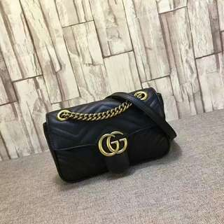 Gucci Marmont matelassé shoulder bag