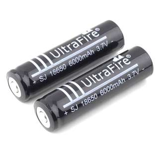 18650 Ultrafire Batteries