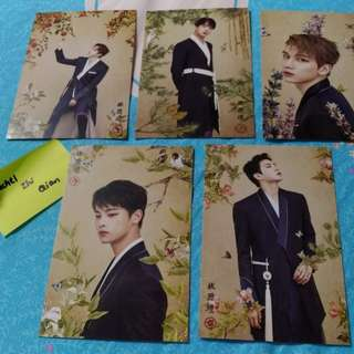 [READY STOCK] VIXX SHANGRI-LA IN SG POSTCARD SET
