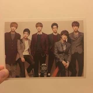 EXO postcard