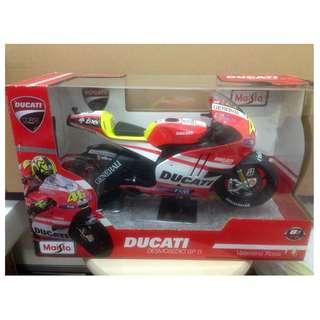 全新 Maisto 1/6 Ducati motor bike 電單車 1盒