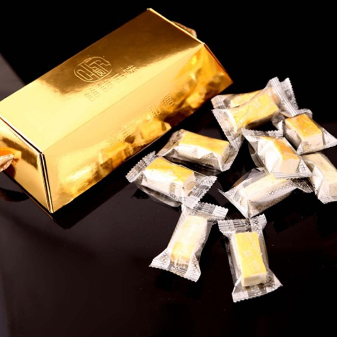 台灣 典皇金箔牛軋糖100g 《5入/一組》 🔸現貨;售完為止🔸