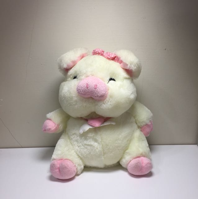 胖胖豬玩偶