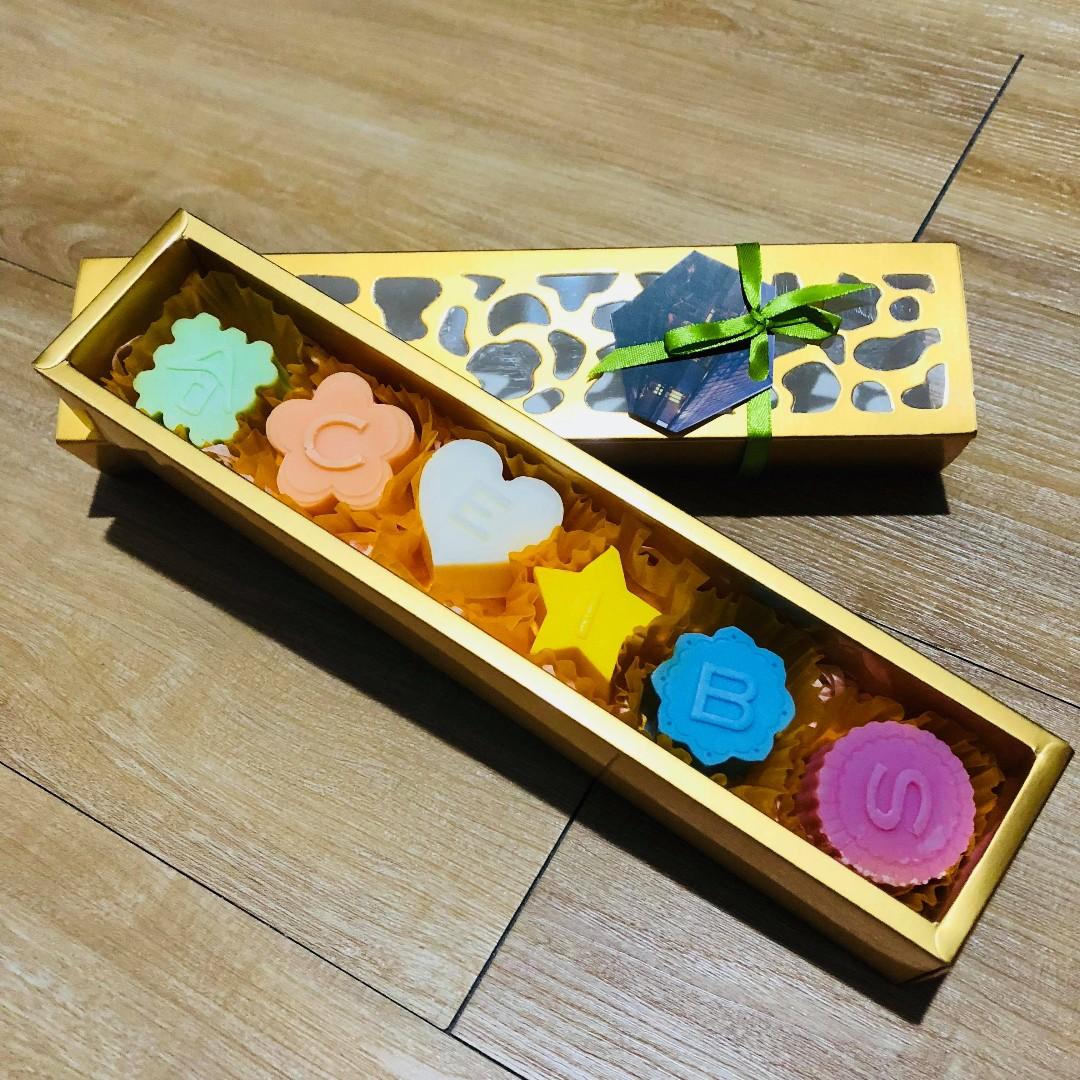 手工香皂禮盒 全新盒裝 六入