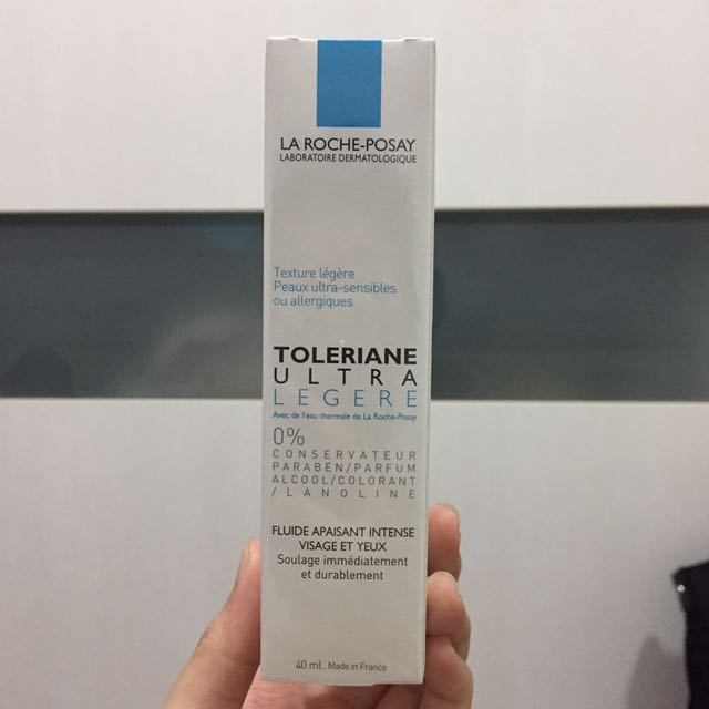 全新)理膚寶水 多容安極效舒緩修護精華乳 清爽型 40ml