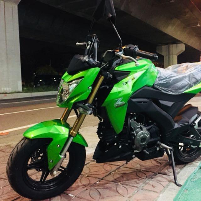 川崎 Kawasaki Z125 綠色2017