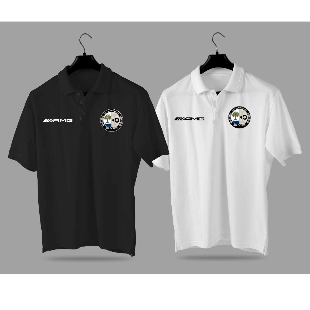 411fd464d61 AMG Mercedes benz Polo Shirt Collar