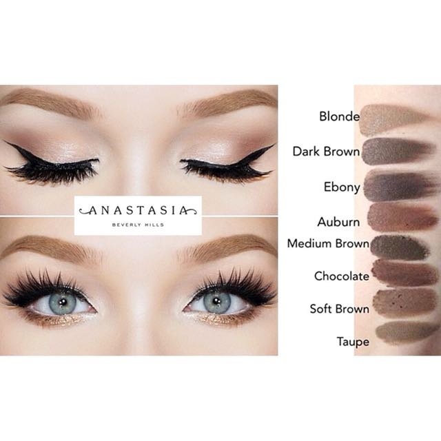 Anastasia Beverly hills dipbrow pomade with brush
