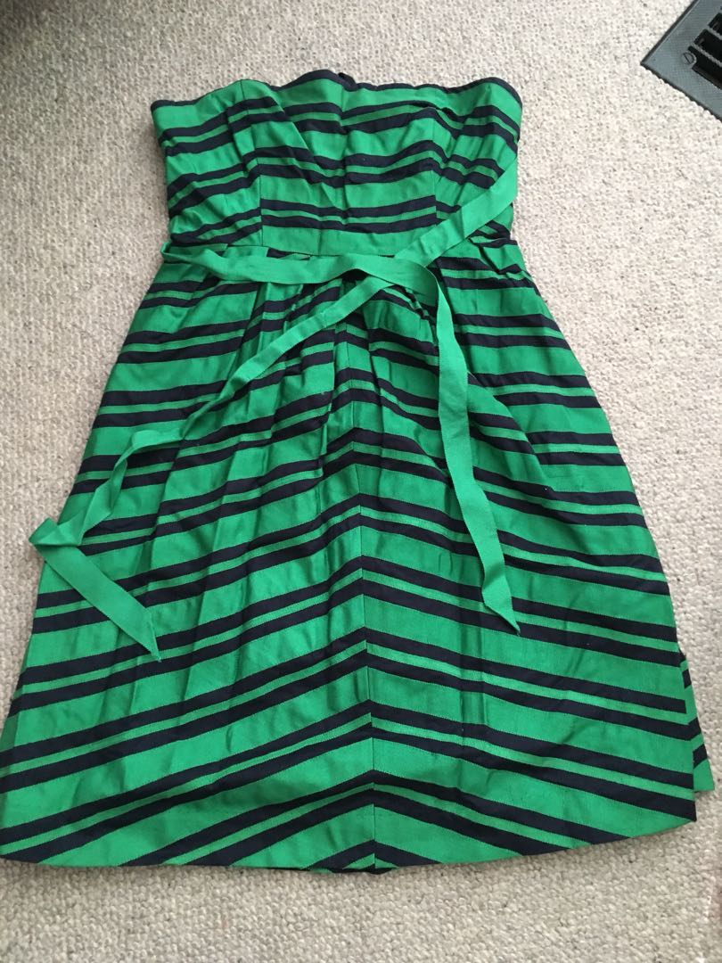 Anthropologie Dress with Sash Sz 2