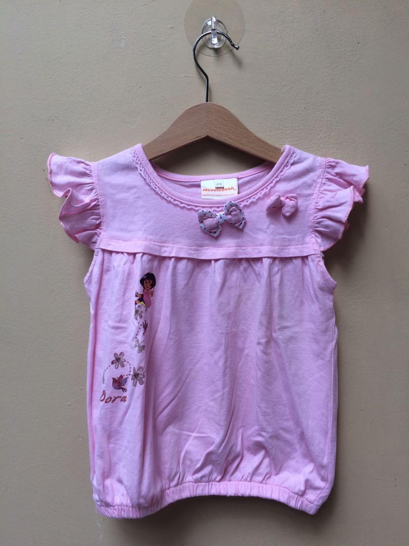 Atasan Dora Size 4-5 tahun