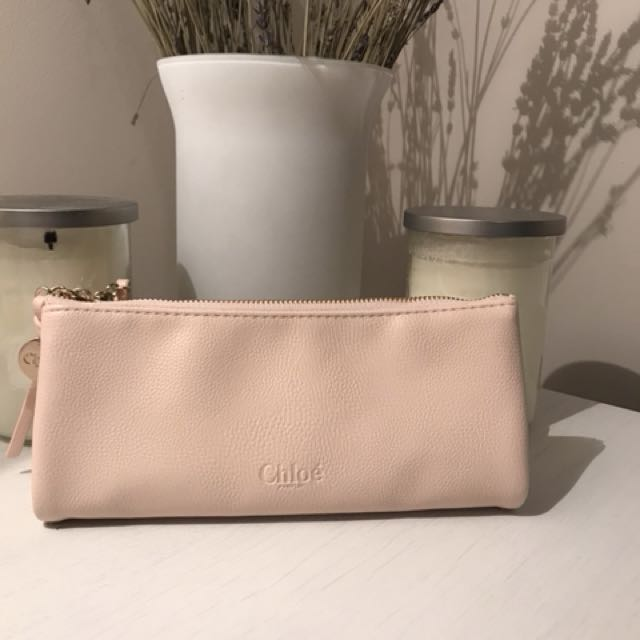 Authentic Chloe perfume clutch