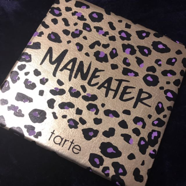 Barely Used tarte maneater palette!