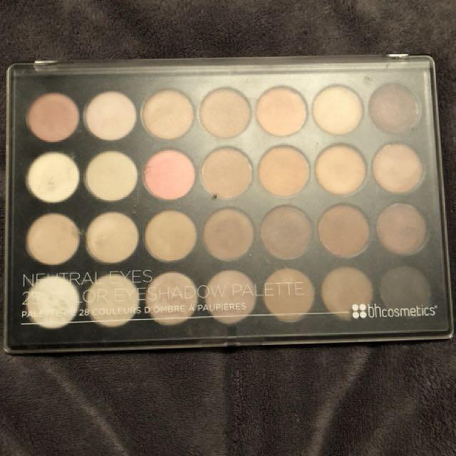 BH cosmetics neutral eyes palette
