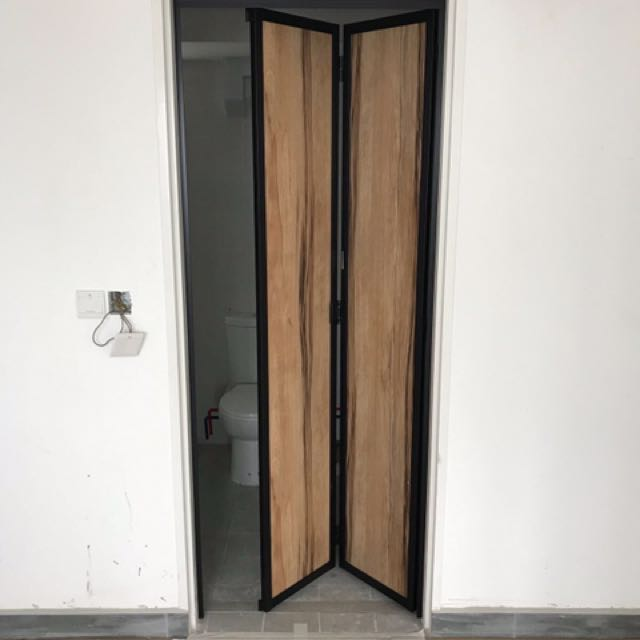 Bi-Fold Toilet Door, Home & Furniture, Others on Carousell