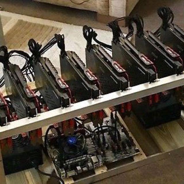 Bitcoin比特幤/以太幤挖礦機,mining coin pc