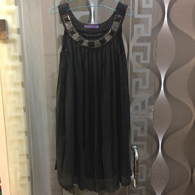 Black dress babydoll