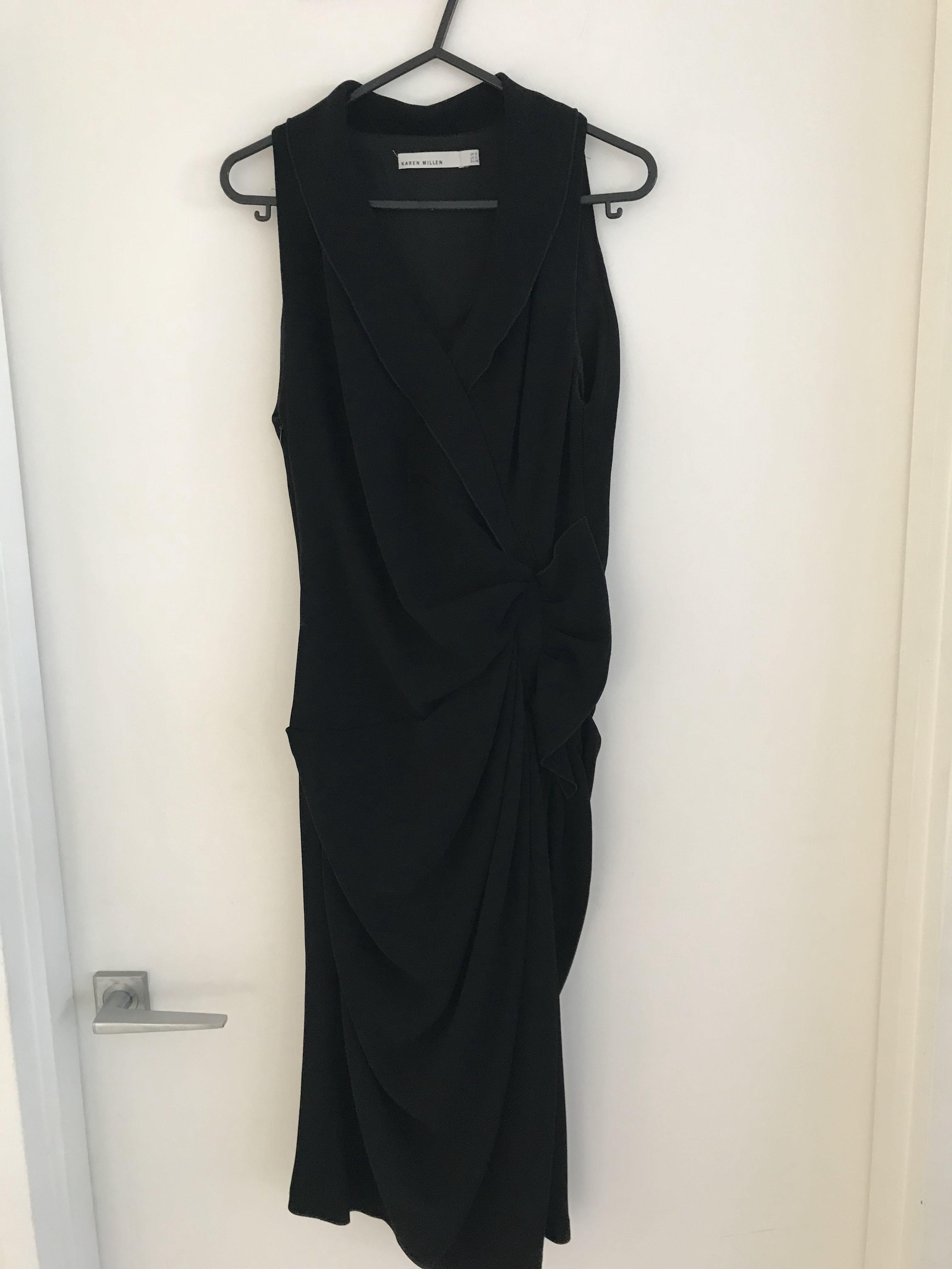 Black Karen Millen dress