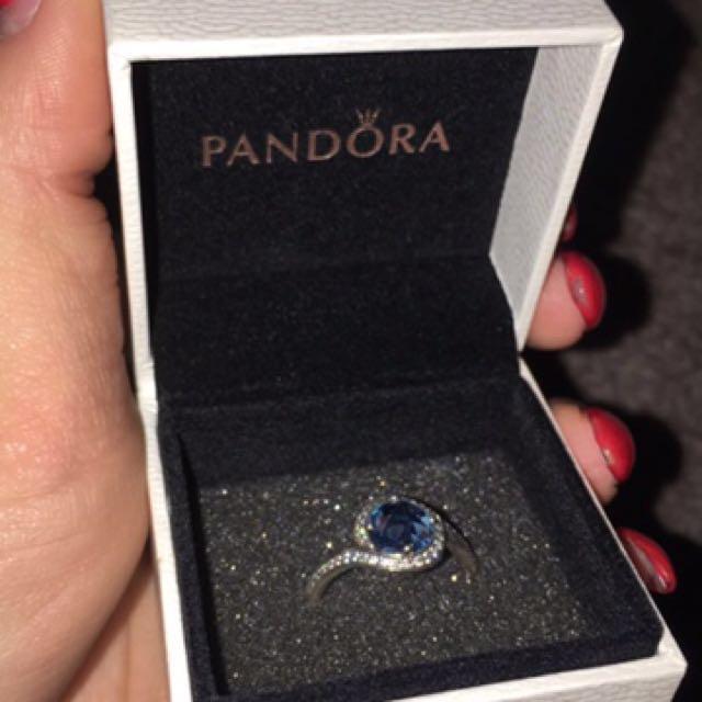 Blue Pandora Ring
