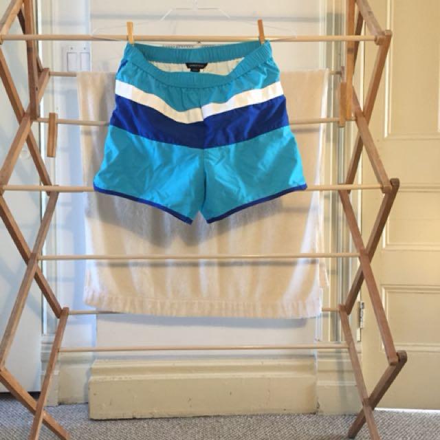 Blue waterproof shorts