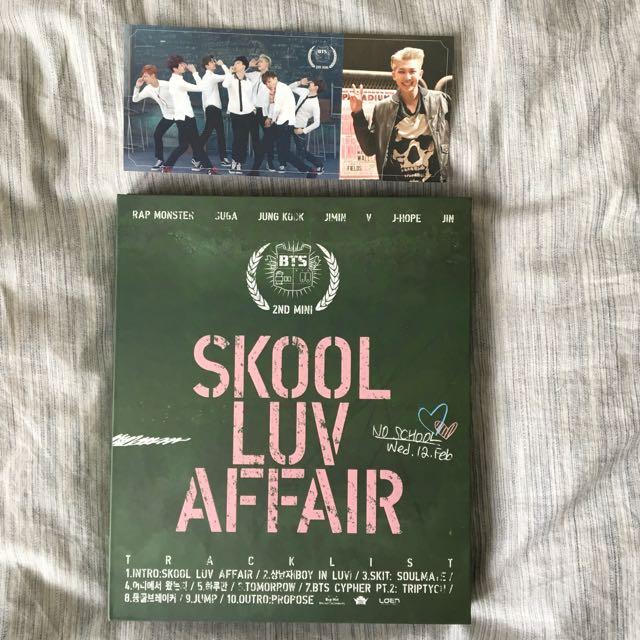 BTS Skool Luv Affair 2nd Mini Album