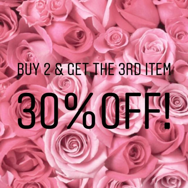 💕Buy 2 & get 3rd item 30% off!