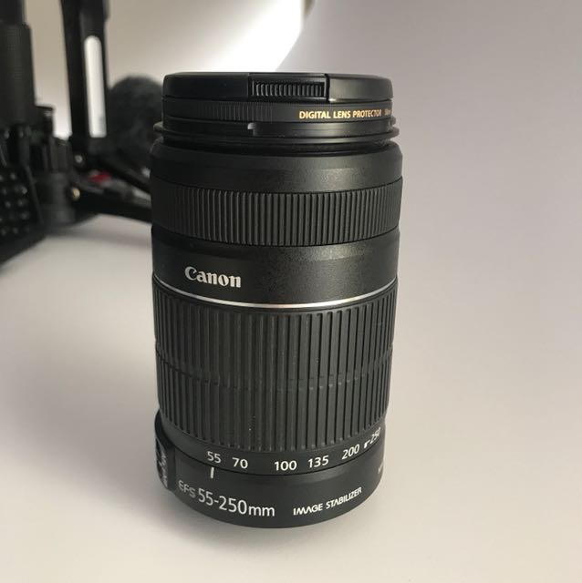 Canon EFS 55-250mm Zoom Lens