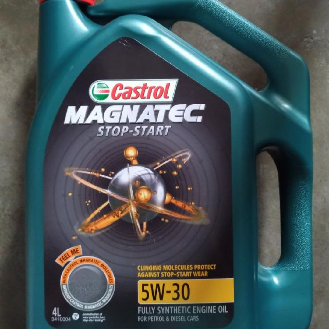 Castrol Magnatec Stop Start 5w 30 Fully Synthetic Oil For Sale Car Accessories On Carousell