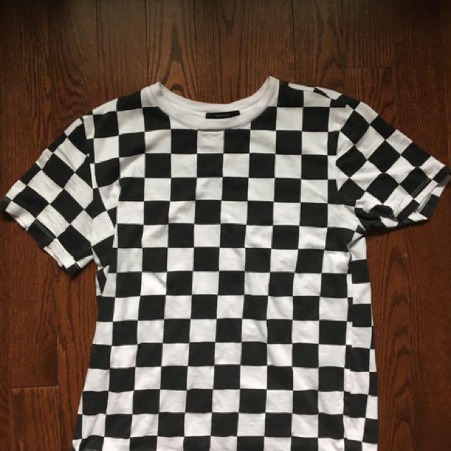 Checkered top (Forever 21) *Medium*