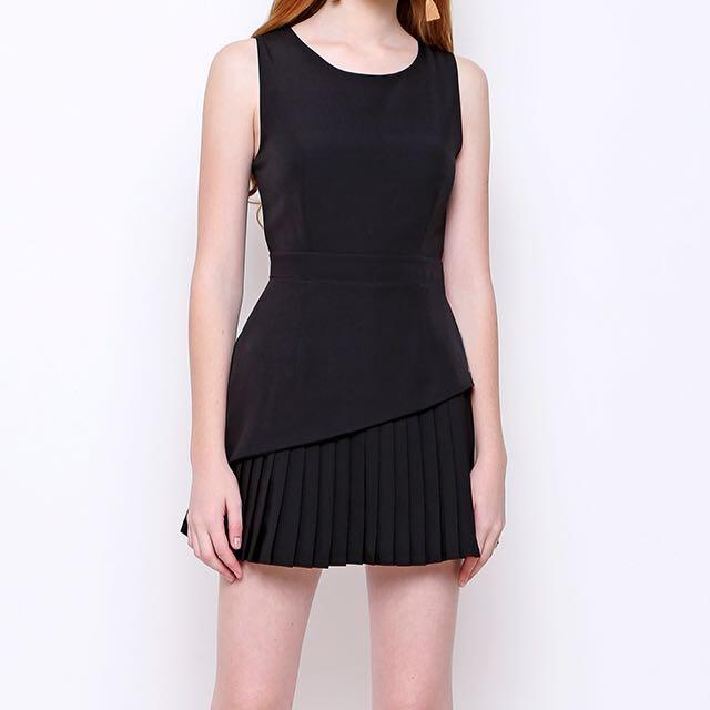 @chocochipsboutique ramsey dress (black)