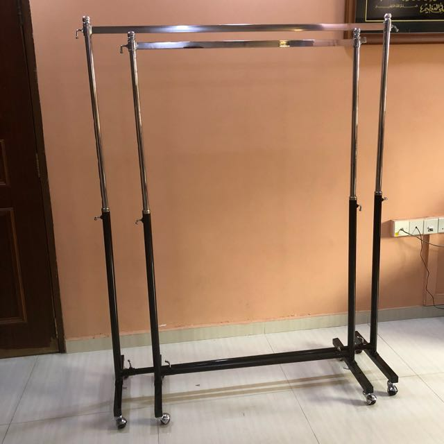 Clothes Rack (single and double rack)