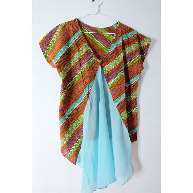 Colorful Batik Top