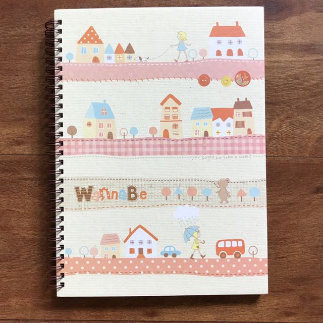 Colorful Spiral Lined Notebook