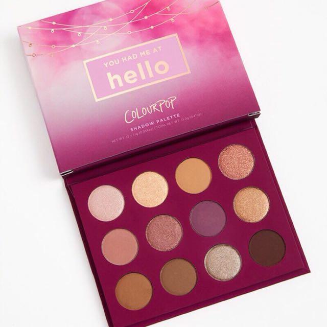 Colourpop-you had me at hello