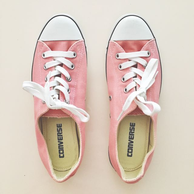 CONVERSE All Star Light Canvas Sneakers Pink Size 7