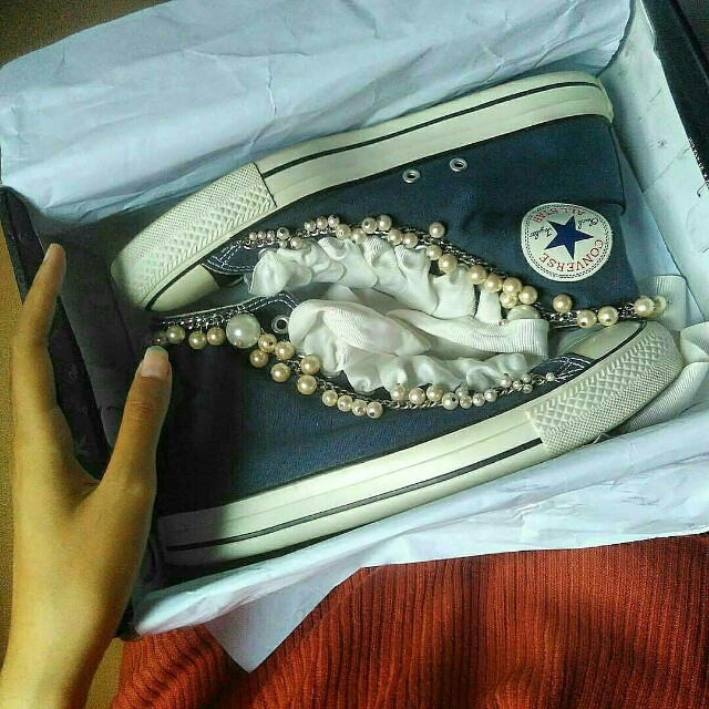 Converse ct hi navy original