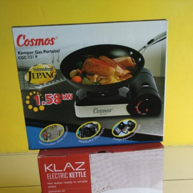 Cosmos Kompor Gas Portable CGC-121 P / Kompor gas mini / camping