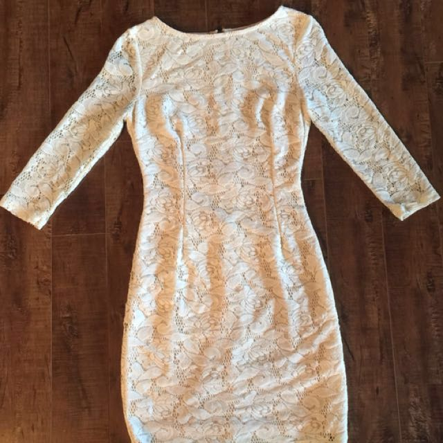 Costa Blanca Lace Dress