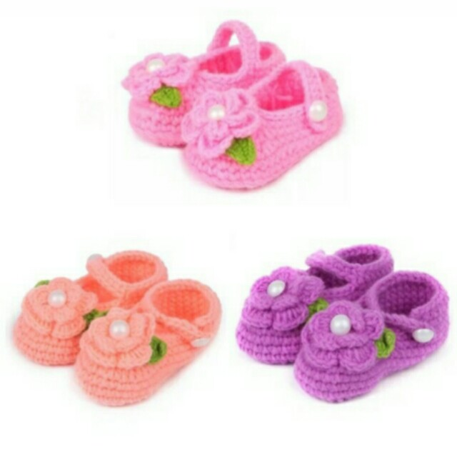 Baby Crochet knitted shoes(pre-order)