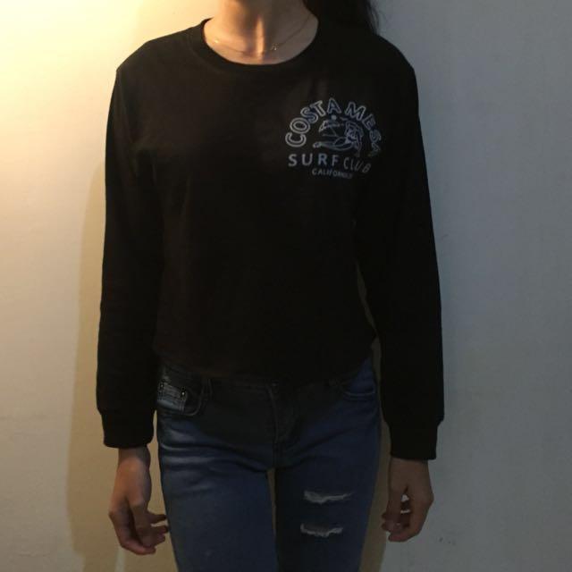 Crop top hoodie/jumper/croptop/croptee/crop tee