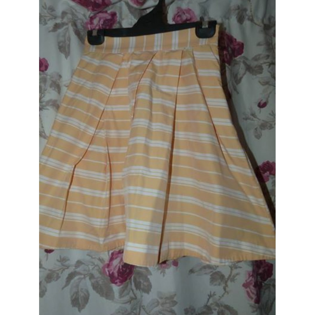 cue striped flared skirt 6