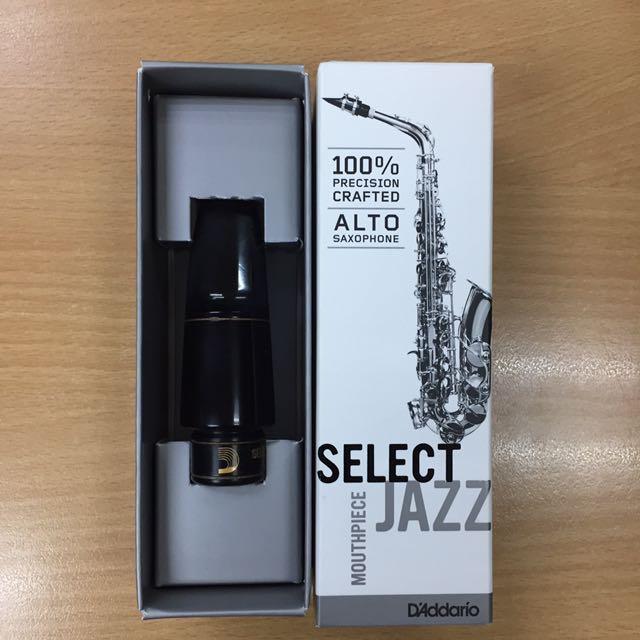 D'Addario Select Jazz Alto Sax Mouthpiece