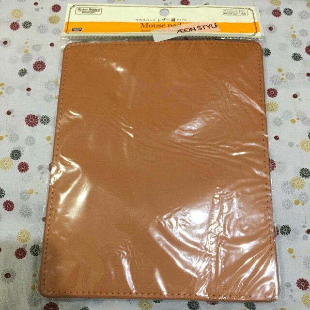 Daiso Leather Mouse Pad