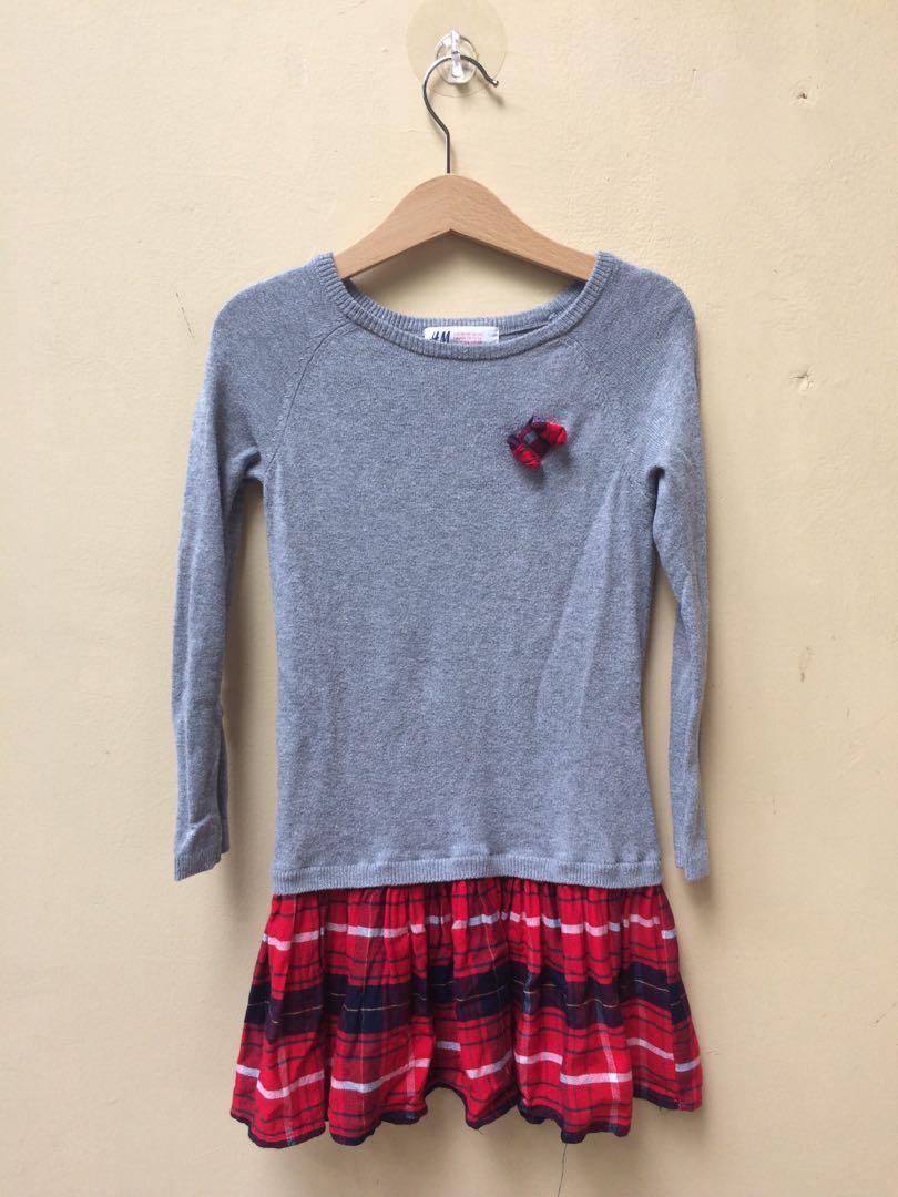 Dress H&M size 2-4 tahun