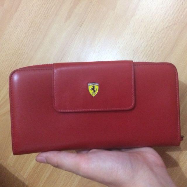 Ferrari Red Wallet