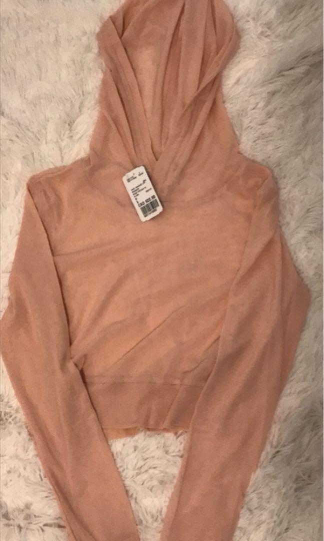 Forever 21 mesh hoodie - NWT