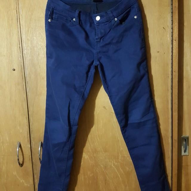 Forever 21 navy blue pants