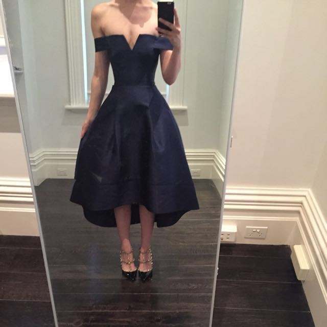 Forever New Navy Evening/cocktail dress