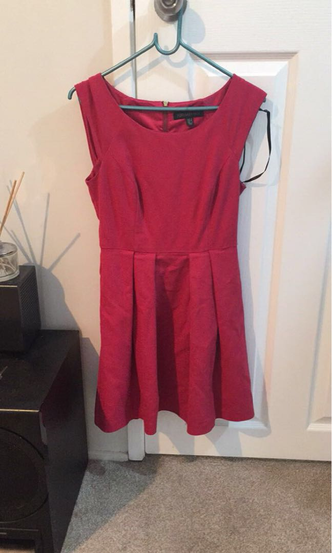 Forever new red dress size 8