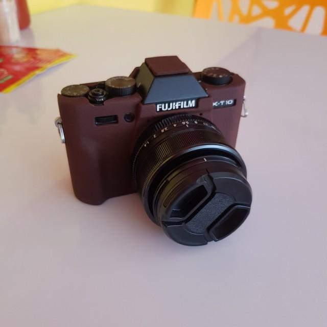 Fujifilm xt 10 lens fujinon 3.5mm f1.4 mirrorless