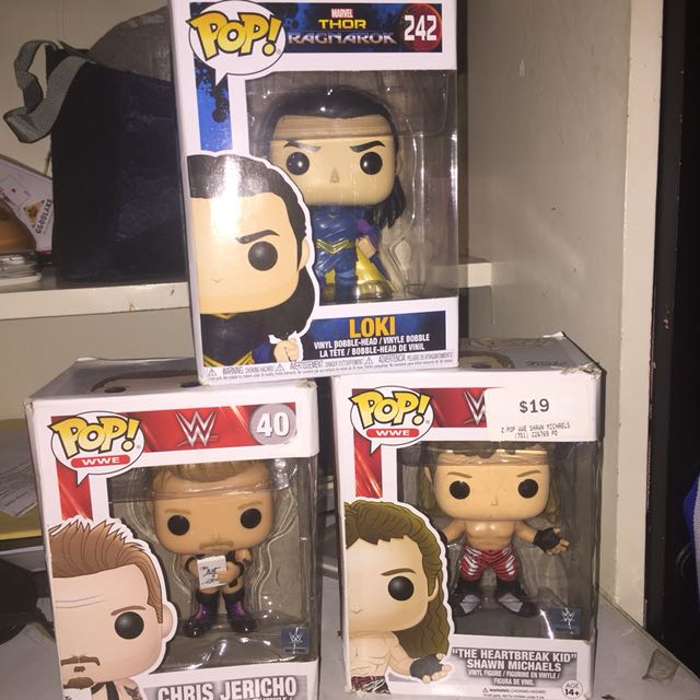 Funko Pop Marvel & WWE